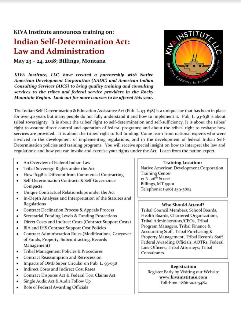 Kiva Institute_Flyer